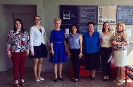 KTU Maisto Institute – svečiai iš Baltarusijos ir Ukrainos