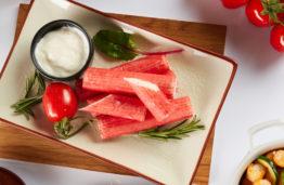 Kuo krabų mėsa naudinga organizmui?